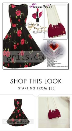"""""""SevenGrils 7"""" by ruza66-c ❤ liked on Polyvore featuring Avon and vintage"""