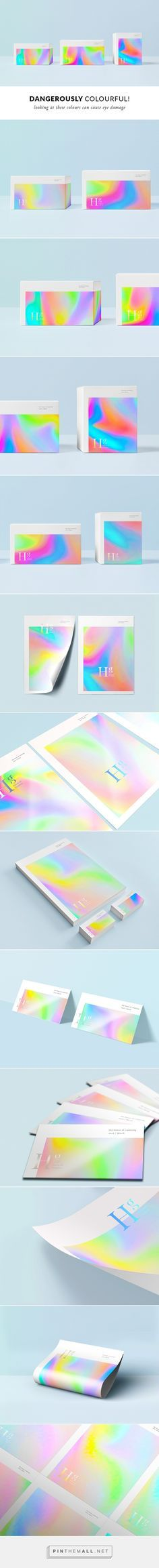 Holographic feeling without metallic effect Gfx Design, Print Design, Brand Packaging, Packaging Design, Saloon, Bussiness Card, Banners, Identity Design, Brand Identity