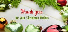 Thank you for your Christmas Wishes #christmas #merrychristmas2017