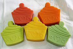 Cupcakes!!! para su baño!! están elaborados con productos 100% naturales!!