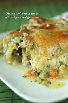 Моите любими рецепти: Пилешко с броколи