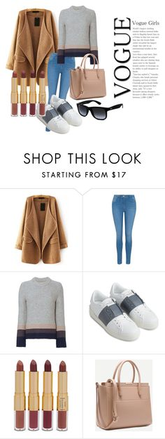 """""""Untitled #3"""" by bebebelabee on Polyvore featuring George, Brochu Walker, Valentino, tarte and Ray-Ban"""