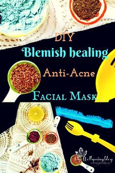 Blemish Healing, Skin Brightening Face Mask – Acne, Open pores and Blackheads - Beauty Spring Tips For Oily Skin, Mask For Oily Skin, Bio Oil Scars, Acne Scars, Black Heads, Acne Face Mask, How To Treat Acne, Skin Brightening, Skin Problems