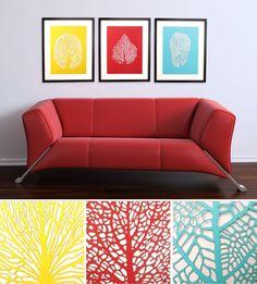 Paper Cut Leaf Art Set of 3. $90.00, via Etsy.