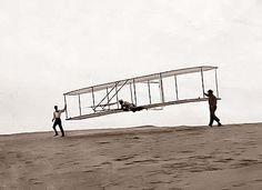 Wright Brothers Test Flight