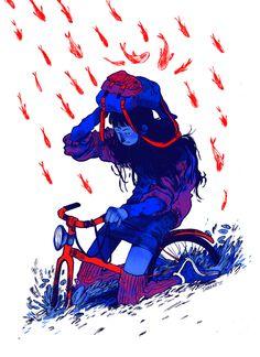 Illustrations by Nuria Tamarit Valencia (Spain) / Fine Art Student / Illustrator and comic artist