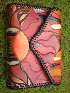My works-Bible leather carving slipcase皮雕的聖經套(大)-10 by Chulan/sold https://plus.google.com/u/0/photos/104284147083036206985/albums/5892748141640013553