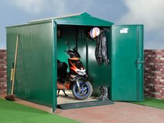 The Asgard Scooter Storage
