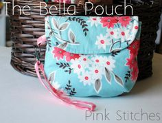 Bella Pouch PDF Pattern by greenletterday on Etsy
