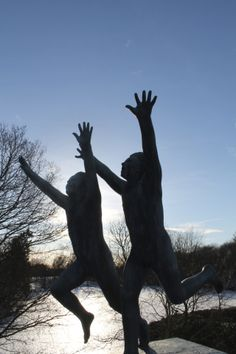 Oslo, Norway. Photo: Thor – Vigelandsparken Oslo, Goblin, Troll, Norway, Fairy Tales, Sculptures, Spirituality, Romantic, Park