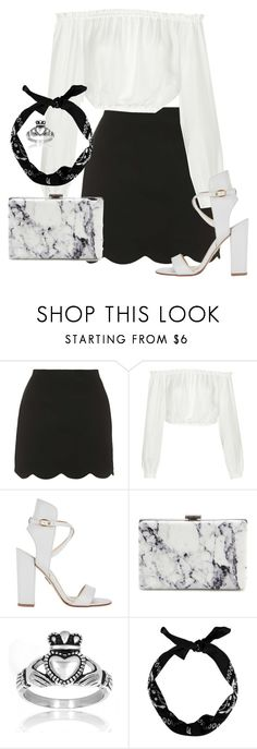 """""""Outfit 146"""" by lexiesimpson on Polyvore featuring Topshop, Elizabeth and James, Paul Andrew, Balenciaga, West Coast Jewelry, women's clothing, women, female, woman and misses"""