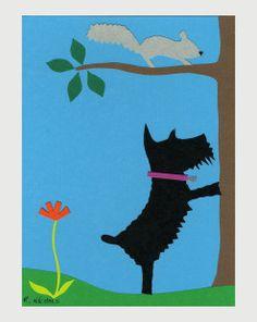 Марки Penny Black, Шотландские Терьеры, Собачье Искусство, Игрушки Для Питомцев, Gatos