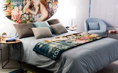 Manta CUPIDON LaLigne29 | HomebyFama Comforters, Blanket, Bed, Bed Throws, Bed Feet, Rugs, Beds, Toss Pillows, Cupid