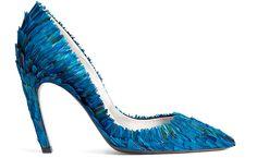 Rendez Vous Pump - Roger Vivier.  Love that vivid blue colour.