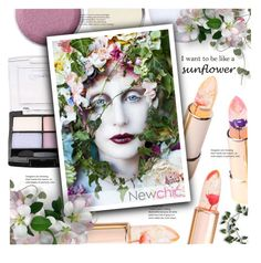i want to be lika a sunflower by meyli-meyli on Polyvore featuring beauty, Beauty, beautyproducts and newchic