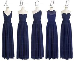 blue bridesmaid dresses - Google Search