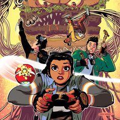 "Erez Zadok Draws Awesome Illustrations For ""3 O'clock Club"" Comic Books"