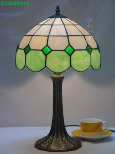Grid Tiffany Lamp 12S9-1GT325