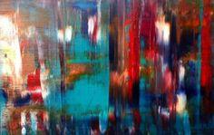Original Oils on Canvas Abstract By Jon-Paul Denaro  Artist: Denaro, Jon-Paul Artwork title: Habanera Aria - Carmen