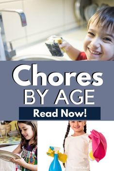 Age-Appropriate Chores: Printable Chore List For Kids Age Appropriate Chores For Kids, Chores For Kids By Age, Chore List For Kids, Toddler Chores, Chore Chart Kids, Boy Toddler, Gentle Parenting, Parenting Hacks, Peaceful Parenting