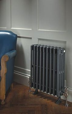 "Bianco This all time classic is the traditional choice and retains its popular character and charm. This ""school house"" design is perfectly suited to Victorian or older properties where a modern alternative would look out of place. Edwardian House, Modern Victorian, Victorian Decor, Victorian Homes, Traditional Radiators, Modern Radiators, Victorian Radiators, Cast Iron Radiators, Houses"