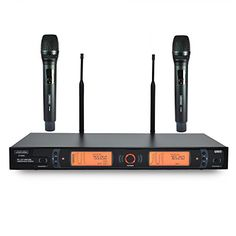 GDHD HDM9620 UHF Professional Wireless Microphone with 2 Hand held mics ** See this great product.