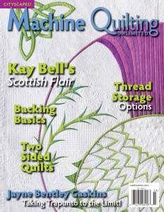 leka: Machine Quilting Unlimited №3 2014