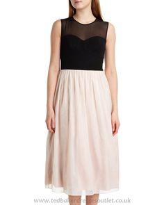 Ted Baker | Black White Jahari Ballerina Dress