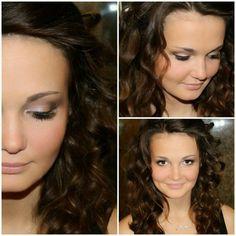 My wedding makeup for brown eyes#wedding #beauty#cute