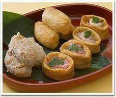 いなり寿司 Inari Sushi - sushi in bean curd