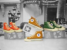 Converse, made in USA.