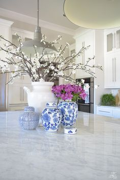 ZDesign At Home: 3 Simple Tips for Styling Your Kitchen Island