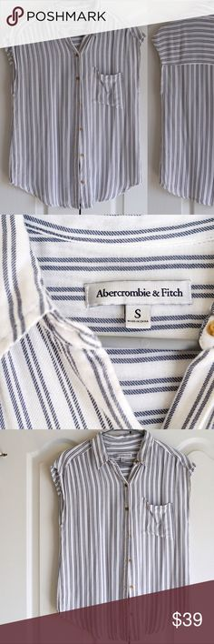 Abercrombie and Fitch shirt size S Abercrombie and Fitch shirt size S Abercrombie & Fitch Tops Button Down Shirts