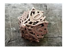 Botanical Die10 (Oak) by ceramicwombat (Ooooo.....I wish this was around back in my D days....or my AD days, haha)