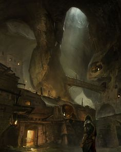 The Underground, located in the Badlands. A save haven for the less fortunate and criminal minds. Birthplace of Sparda Vi Maleficent.