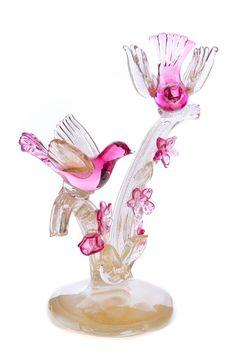 VENETIAN MURANO GLASS BIRD SCULPTURE Bird Sculpture, Glass Birds, Art Auction, Murano Glass, Venetian, Art Decor, Art Deco