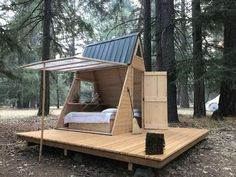 Star A-Body Tiny Cabin, Cedar Bloom, OR: 13 Hipcamper opinions and 56 photographs Tiny Cabins, Tiny House Cabin, Rustic Cabins, A Frame House, Tiny House Movement, Backyard Projects, Backyard Ideas, Rustic Design, Play Houses