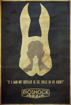 It Belongs to Everyone - Bioshock Poster by Edwin Julian Moran II