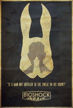 It Belongs to Everyone - Bioshock Poster by Edwin Julian Moran II