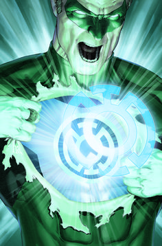 Green lantern by Alex Ross Comic Book Characters, Comic Character, Comic Books Art, Comic Art, Comic Movies, Book Art, Alex Ross, Green Lantern Rebirth, Blue Lantern Corps