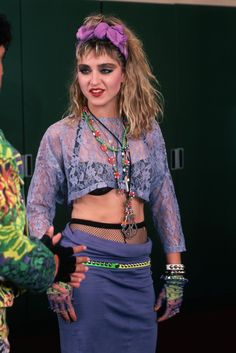 Pud Whacker's Madonna Scrapbook: Backstage at The Virgin Tour