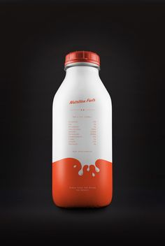 Yummy Milk Packaging Concept 2