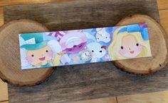 OtterNonsenseDesigns Wonderland Bookmark
