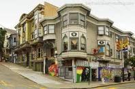 Haight and Ashbury, San Francisco
