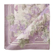 Lilac Flowers Tablecloth