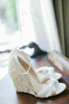 Sapatos de noiva confortáveis - para casamentos ao ar livre, campestre