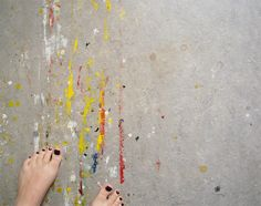 painted in floors by Camilla Engman, via Flickr