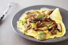 Power-Up Veggie Omelet #VitacostFoodie #Breakfast #MuscleTech
