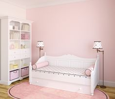 With so many shades of pink paint, surely there is a wall in your home that can benefit from Smashing Pink, Blanched Coral, Sweet Taffy, Pink Popsicle, Paradise Pink, Pink Bliss, or maybe even I Love You Pink.