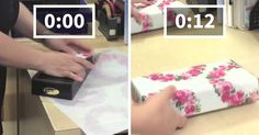Guy Reveals Japanese Gift Wrapping Hack That Lets You Wrap Your Gifts In Less Than 15 Secs | Bored Panda
